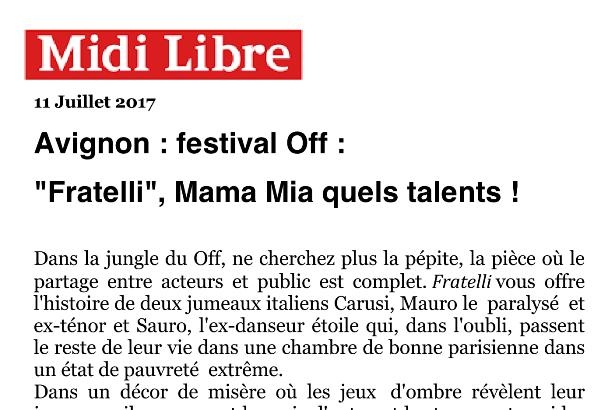 Fratelli Midi Libre