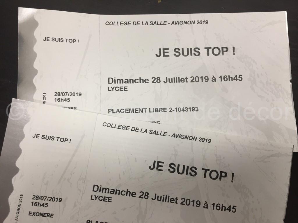Je suis Top Avignon 2019